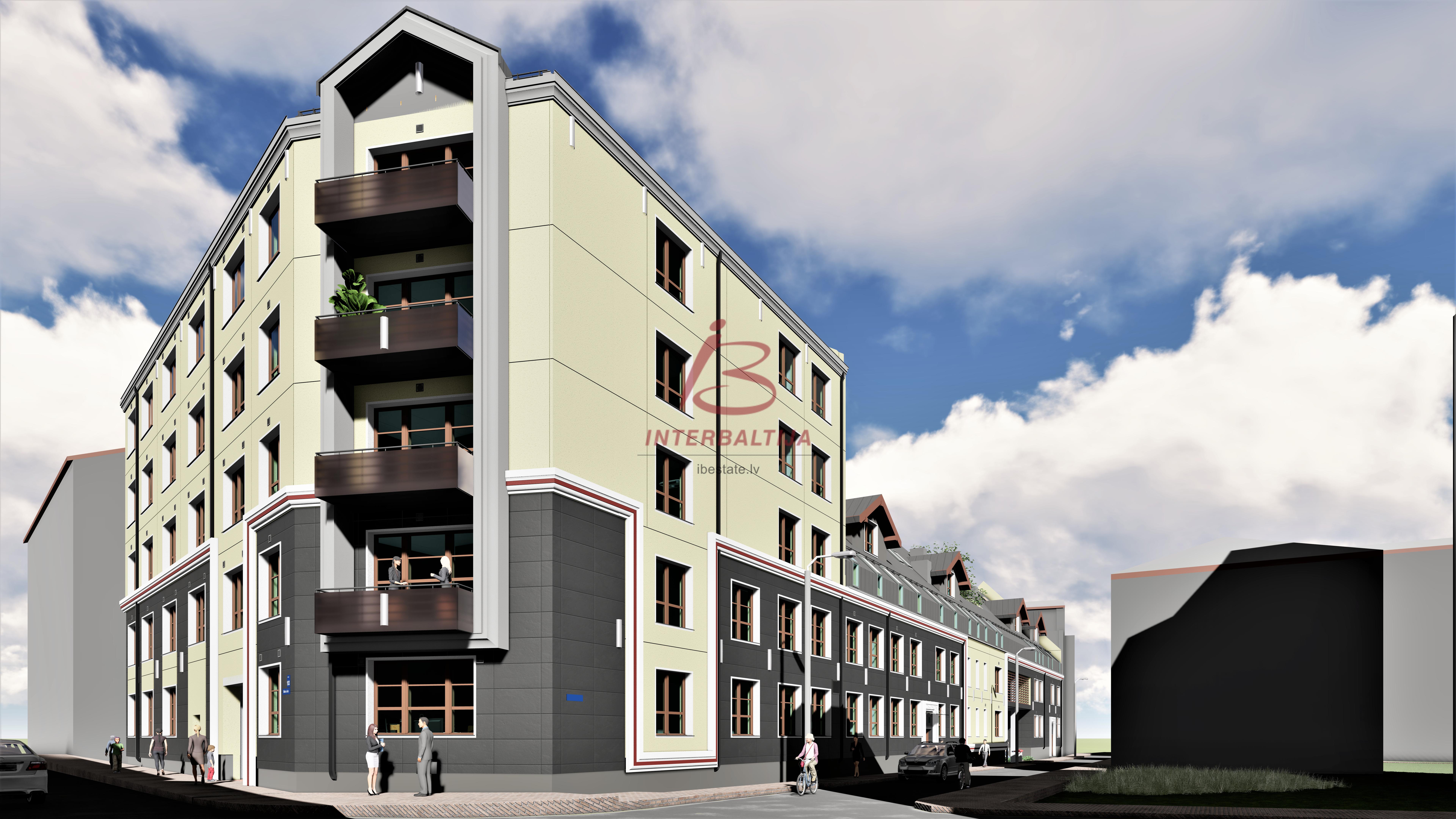 Pārdod dzīvokļus jaunajā projektā City Home