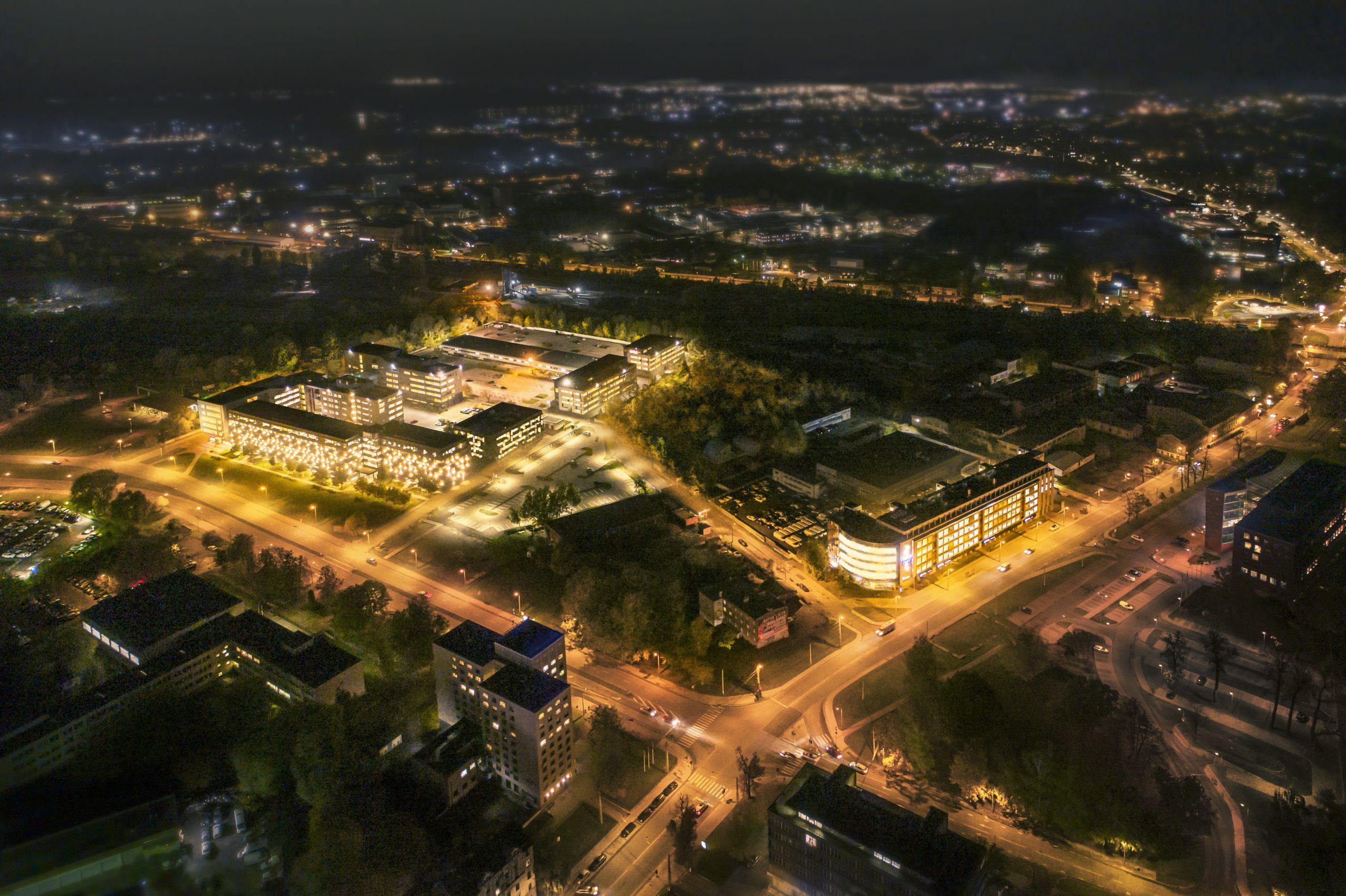 Skanstes City, Rīga
