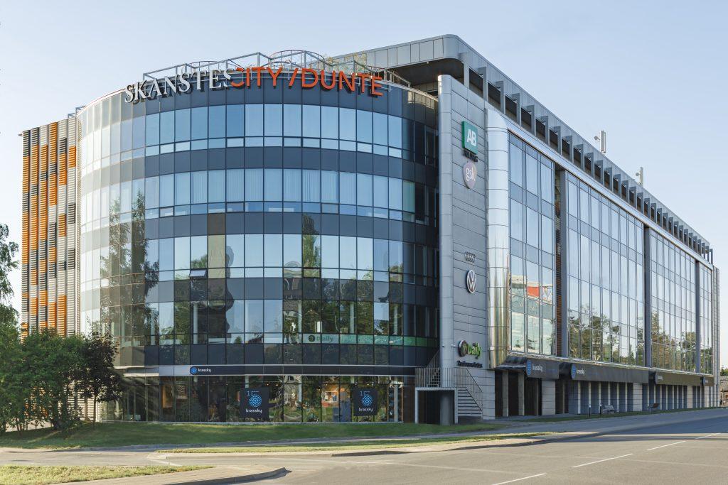 Duntes ēka, Rīga
